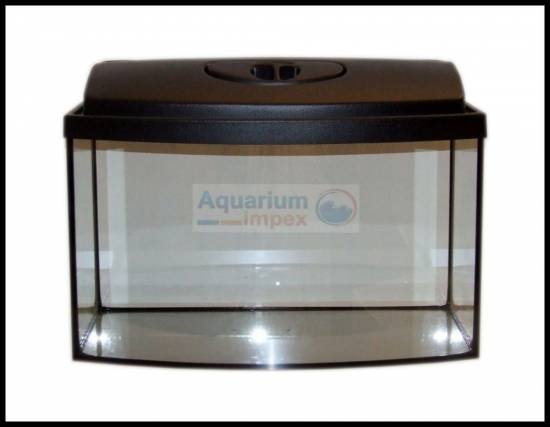 50x30x30 cm gew lbt aquarium beleuchtung 1x14 watt t8 abdeckung schwarz set ebay. Black Bedroom Furniture Sets. Home Design Ideas